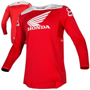 Pánský MX dres FOX 180 Honda Jersey Red 2019