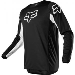 Pánský MX dres FOX 180 Prix Jersey Black White 2020