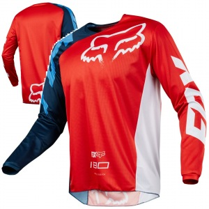Pánský MX dres FOX 180 Race Jersey Red 2018