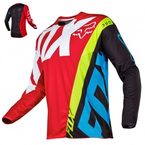 Pánský MX dres FOX 360 Creo Jersey Red 2017