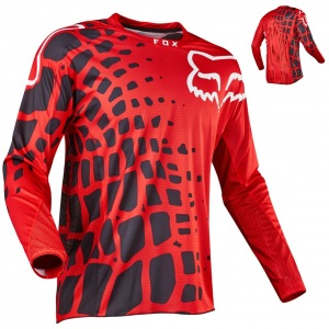 Pánský MX dres FOX 360 Grav Jersey Red 2017
