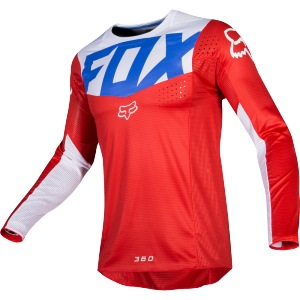 Pánský MX dres FOX 360 Kila Jersey Blue Red 2019