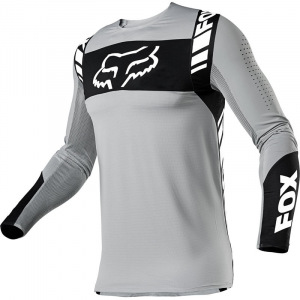 Pánský MX dres FOX FlexAir Mach One Jersey Steel Grey 2021