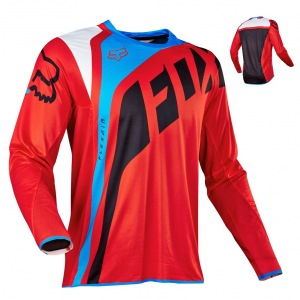 Pánský MX dres FOX FlexAir Seca Jersey Red 2017