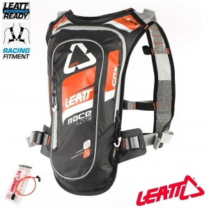 Picí batoh Leatt GPX Race HF 2.0 Hydration Pack Orange Black