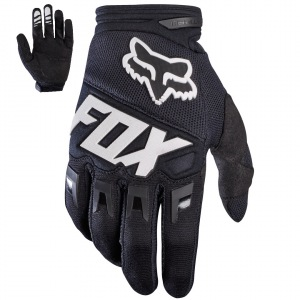 Rukavice moto a mtb FOX Dirtpaw Race Glove Black 2017