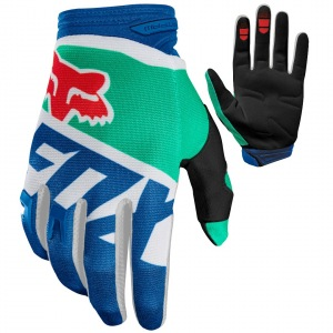 Rukavice moto a mtb FOX Dirtpaw Sayak Glove Green 2018