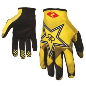 Rukavice One Industries Zero Glove Rockstar Black Yellow 2016