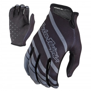 Rukavice TroyLeeDesigns AIR Glove Streamline Grey Black 2018