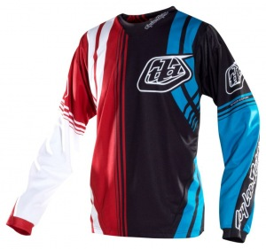 Dres TroyLeeDesigns SE Jersey Imperial Red Black