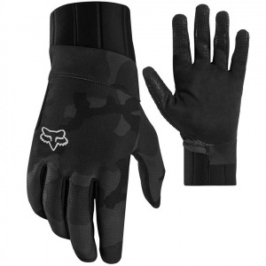 Zateplené rukavice FOX Defend Pro Fire Glove Black Camo
