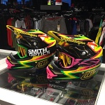 MX helma TroyLeeDesigns AIR Lite Charge Yellow 2015