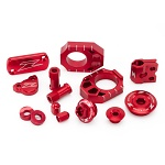 Tuningový set ZETA Billet Kit Suzuki RMZ250 RMZ450 Red