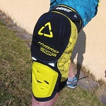 Chrániče kolen Leatt Knee Guard 3DF Hybrid Black Lime 2015