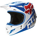 MX helma FOX V1 Race Helmet Blue 2016