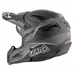 Downhill helma Leatt DBX 6.0 Carbon Helmet Carbon White Red