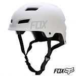 MTB helma Fox Transition Hardshell Helmet Matte White