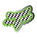 "Nálepka FOX Racing Victory Sticker 4"" Green"
