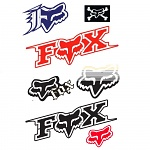 Sada nálepek FOX Racing kit A