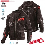 Pánská enduro bunda Leatt GPX 5.5 Enduro Jacket Black Grey