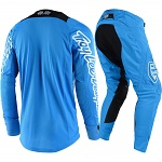 MX komplet TroyLeeDesigns SE AIR Squadra Cyan Orange 2018