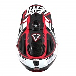 MX helma Leatt GPX 5.5 Composite Red Black White