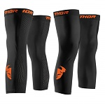 Návleky pod ortézy THOR Comp Knee Sleeve Black Red Orange