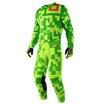 MX komplet TroyLeeDesigns GP Maze Flo Yellow Green Set 2018