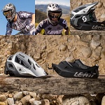 MTB helma LEATT DBX 3.0 Enduro V2 Brushed Helmet