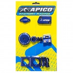 Tuningový set APICO Bling Kit Yamaha YZ250F YZ450F 14-.. Blue