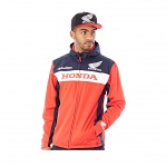 Pánská bunda TroyLeeDesigns Honda Wing Tech Jacket Red