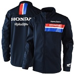 Pánská bunda TroyLeeDesigns Honda Travel Jacket Navy