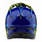 Downhill helma TroyLeeDesigns D3 Helmet Corona Flo Yellow Blue 2018