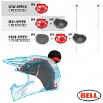 MX helma BELL Moto-9 Carbon FLEX Vice Blue Red 2018