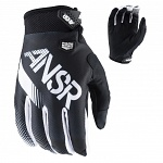 MX rukavice ANSWER Syncron Glove Black White 2017