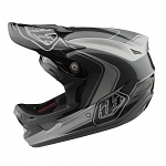 Downhill helma TroyLeeDesigns D3 Carbon Helmet MIPS Mirage Gray 2018