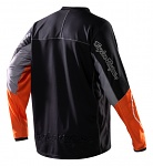 dres TroyLeeDesigns Adventure Jersey Black Orange