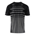 Dres na kolo TroyLeeDesigns Skyline AIR SRAM Jersey Heather Grey 2018