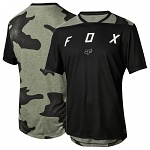 Dětský MTB dres FOX Youth Indicator SS Jersey Black 2018
