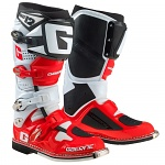 Boty na motokros enduro Gaerne SG12 Boots White Red Black Limited Edition 2019
