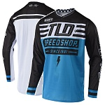 Dres TroyLeeDesigns GP AIR Jersey Bolt Ocean 2019