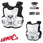 Chránič hrudi a zad Leatt Adventure LITE Chest Guard White