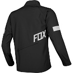 Enduro bunda FOX Legion Softshell Jacket Black 2019