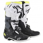 Boty na motokros Alpinestars TECH 10 Black White Yellow Flo 2019