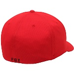 Pánská čepice FOX Lithotype Flexfit Hat Red