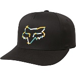 Dětská čepice FOX Youth Heretic FlexFit Hat Black