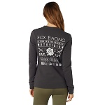 Dámská mikina FOX Girls Good Timer Crew Fleece Black Vintage