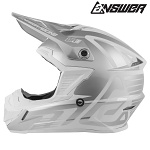 MX helma ANSWER AR-1 Edge Helmet Fog White 2019