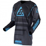 Pánský MX dres ANSWER Elite Jersey Force Charcoal Black Astana 2019