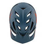 MTB helma TroyLeeDesigns A1 Helmet MIPS Classic Air Force Blue Clay 2019